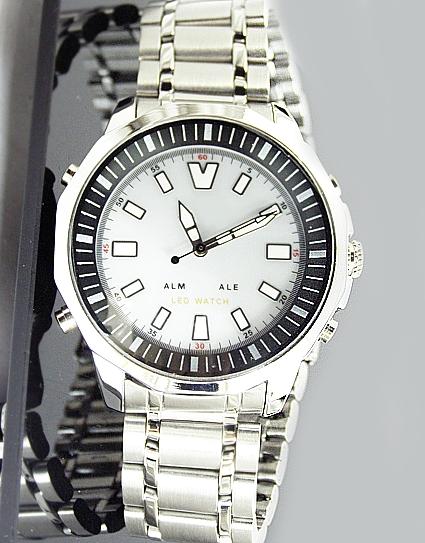LED   Quartz Analog Digitální náramkové hodinky FW617W s budíkem e87ba2a158